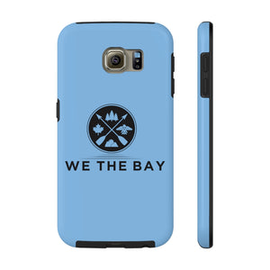 Mate Tough Phone Case- Blue (pick different size for iPhone 6 - 11pro or Galaxy S6)