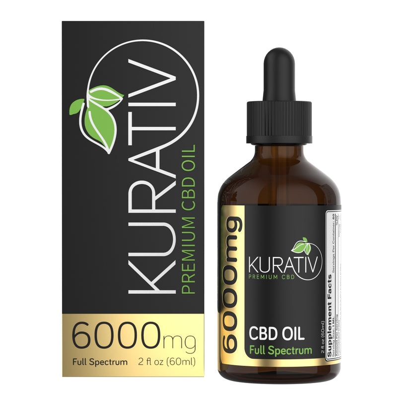 Copy of Full Spectrum CBD Oil 12,000mg Kurativ Premium CBD