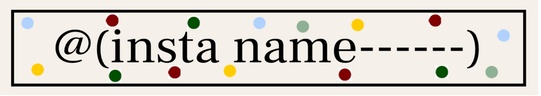 @(insta name------) (Dotty) Just enter your name/word to replace those in the brackets in the Bespoke Words box below