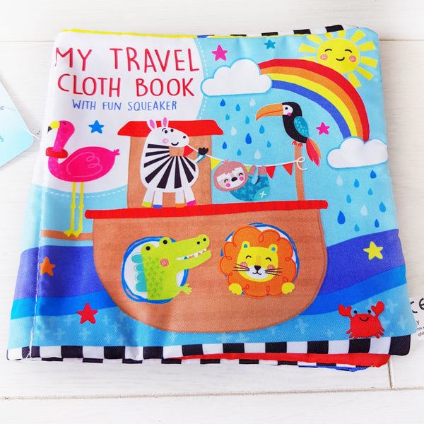 My travel cloth book
