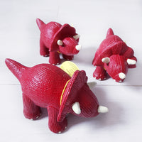 My 1st natural rubber Triceratops teether and bath toy