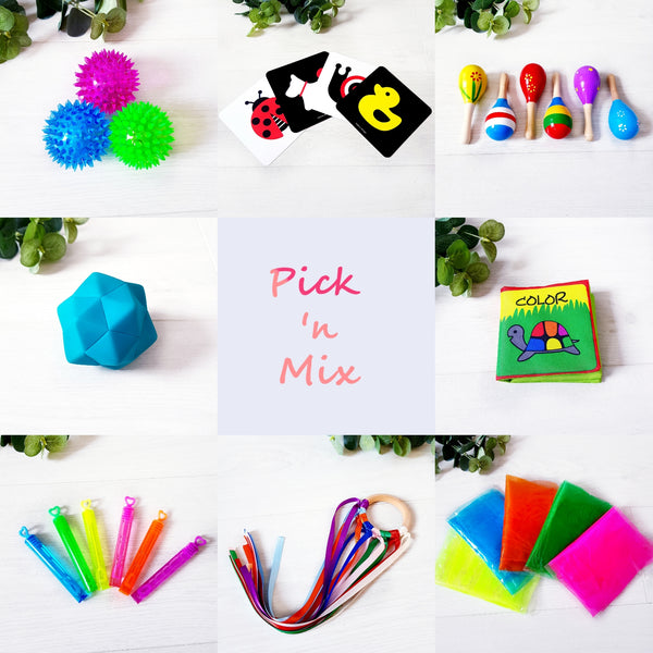 The Pick 'n Mix  Sensory Box