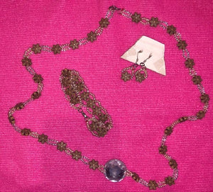 Jewellery Set - Necklace, Bracelet and Earrings