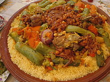 Mary's Couscous Meal - Vegetarian