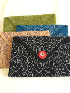 Lined Cotton Pouches from Bangladesh