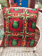 Load image into Gallery viewer, Bronzy Tartan Cushion