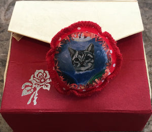 Cosmic Cat Padded Brooch
