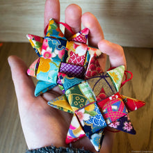 Load image into Gallery viewer, Fabric Star DIY Kit