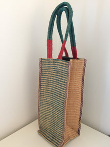 Handwoven Wine Bag