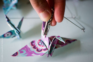 Origami Crane Mobile DIY Kit