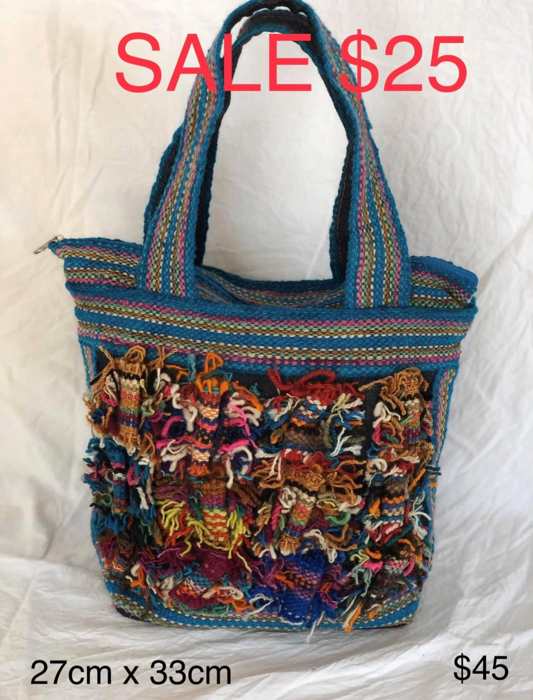 Multi-Colour Shoulder Bag