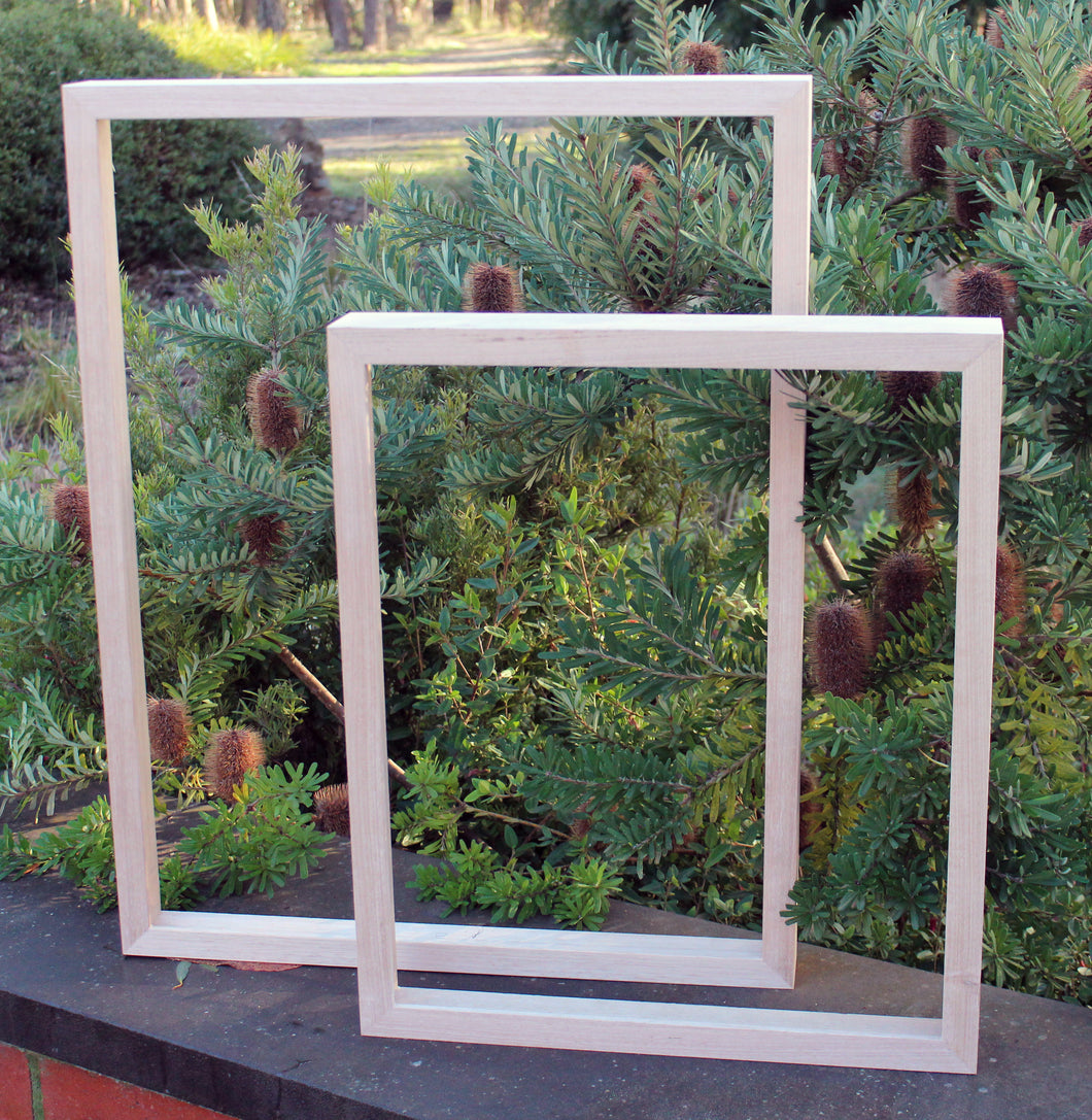 Hand Crafted Shadow Box Picture Frames