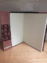 Load image into Gallery viewer, A4 Journal with handmade cloth cover