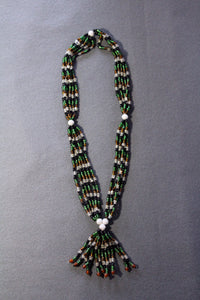 Special Large Bead Multi-Strand Necklace