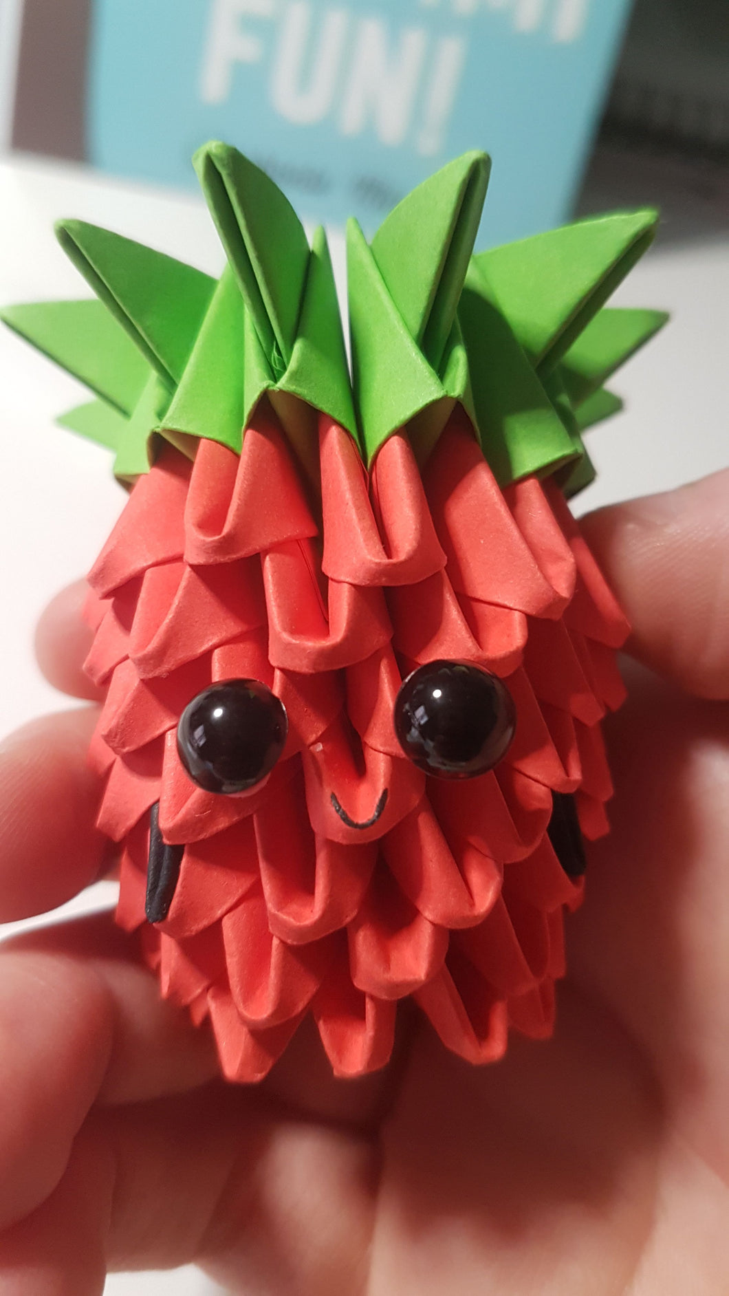 Strawberry DIY Origami Kit