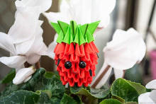 Load image into Gallery viewer, Strawberry DIY Origami Kit