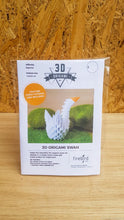 Load image into Gallery viewer, Swan DIY Origami Kit