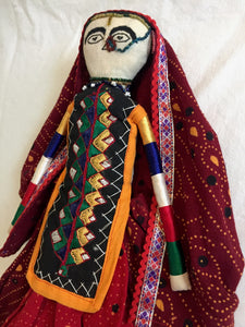 Traditional Indian Doll