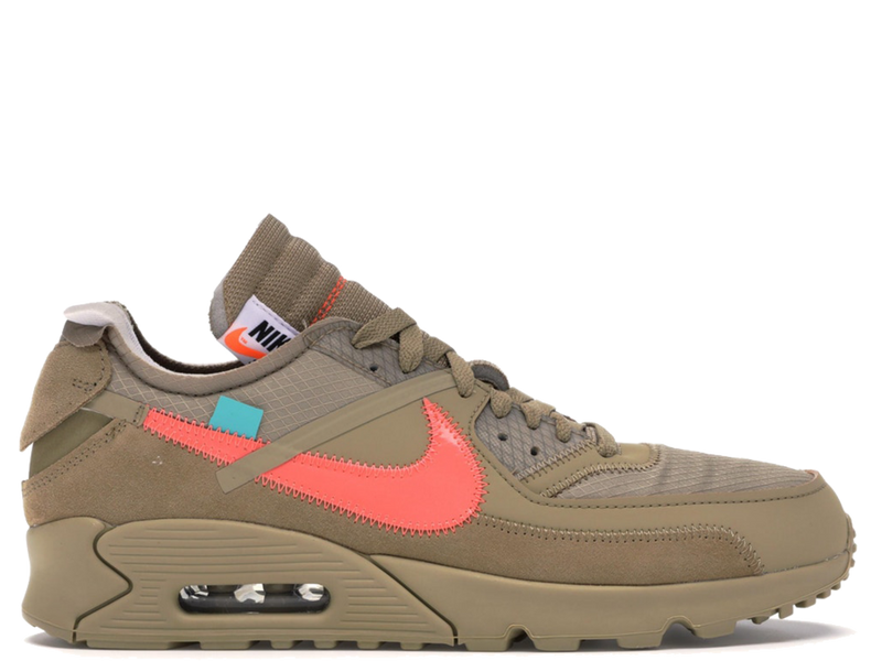 Nike Off White Air Max 90 Desert Tan