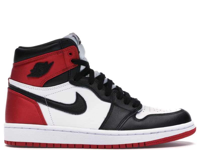 Air Jordan 1 Satin Black Toe