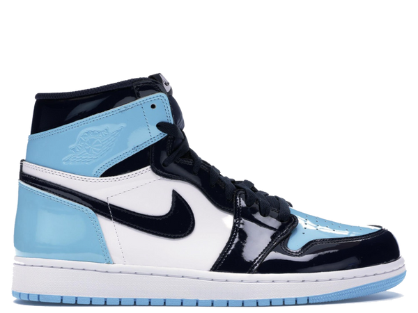 Jordan 1 Retro High UNC Patent Blue Chill