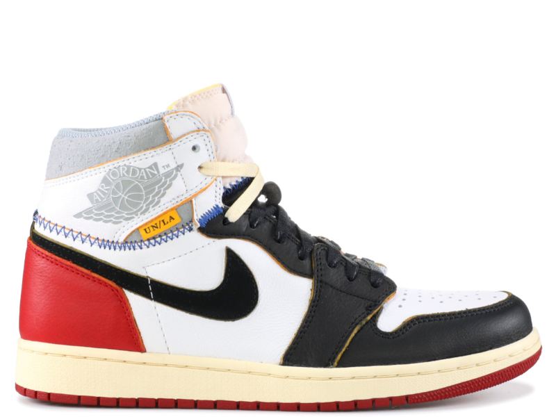 Jordan 1 Retro High Union Black Toe