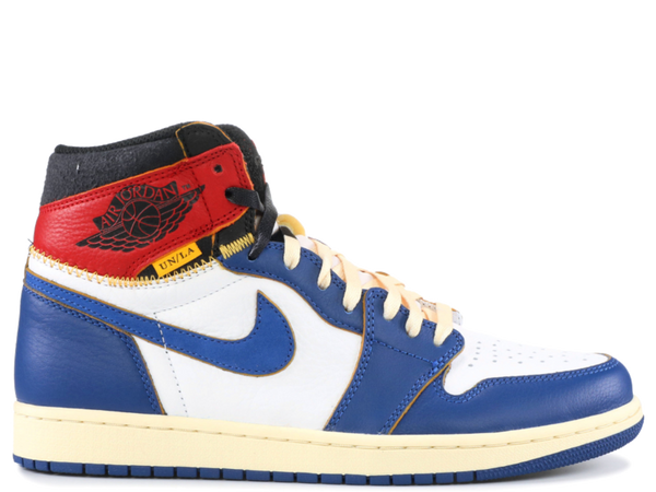 Jordan 1 Retro High Union Blue Toe