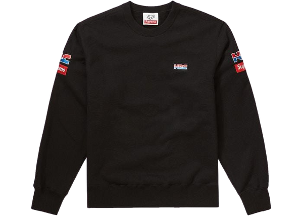 Supreme Honda Fox Racing Crewneck Black