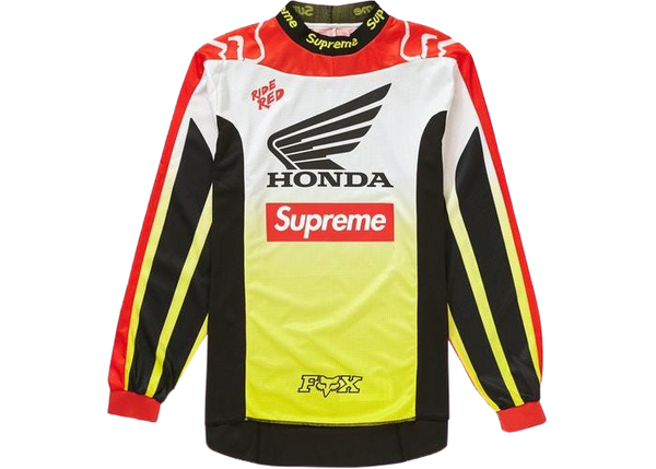 Supreme Honda Fox Racing Jersey Red