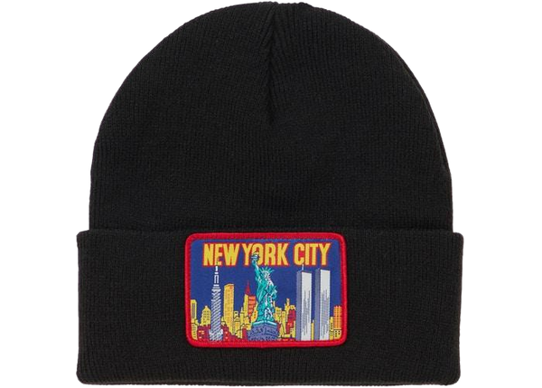 Supreme NYC Beanie Black