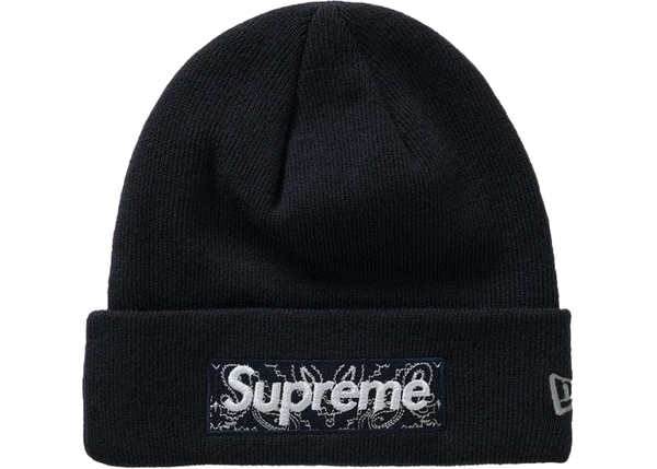 Supreme Box Logo Beanie Black FW19