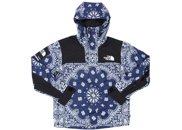Supreme The North Face Bandana Mountain Jacket Navy