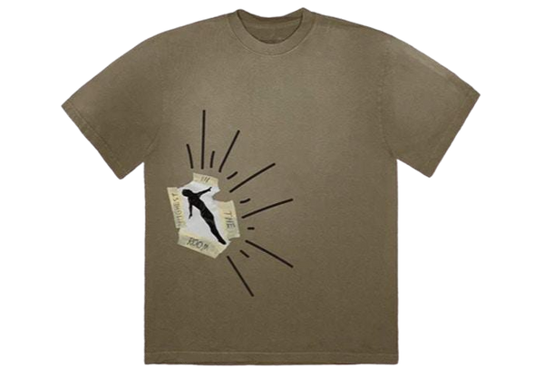 Travis Scott Dive Tee Olive