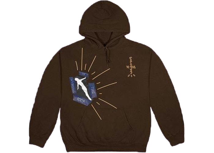 Travis Scott Decoding Hoodie Brown