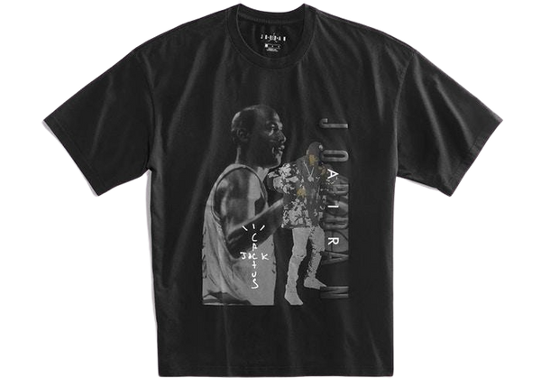 Travis Scott Jordan Tee Black