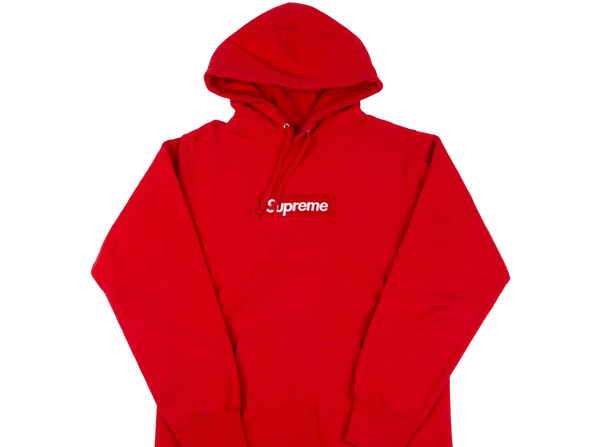 Supreme Box Logo Hoodie Red on Red (FW16)