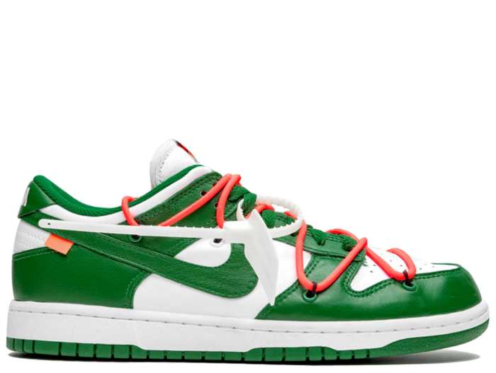 Nike Off White Dunk Low Pine Green