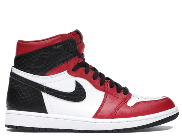 Air Jordan 1 Chicago Satin Snakeskin