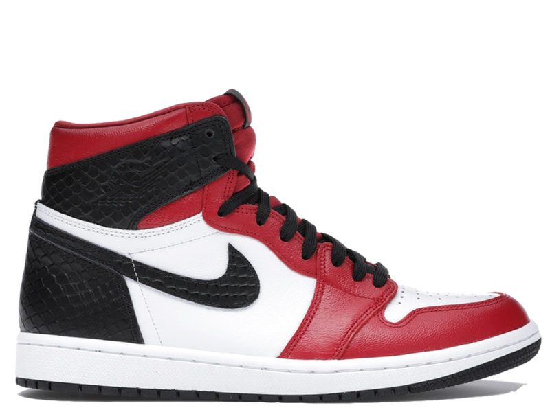 Jordan 1 Retro High Chicago Satin Snakeskin