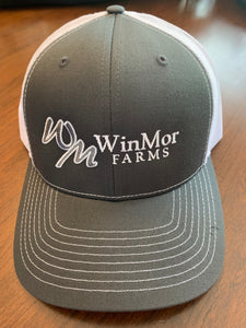 Charcoal/White WinMor Hat