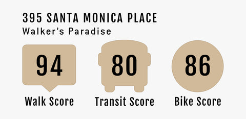 395 Santa monica place Walk Score - Walker's Paradise