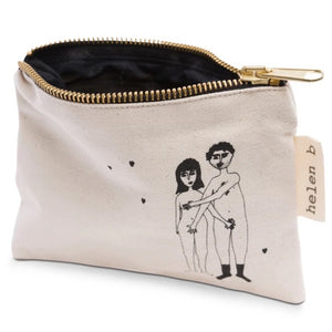 Mini pouch naked couple - HELEN B