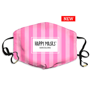 Happy Pink Mask