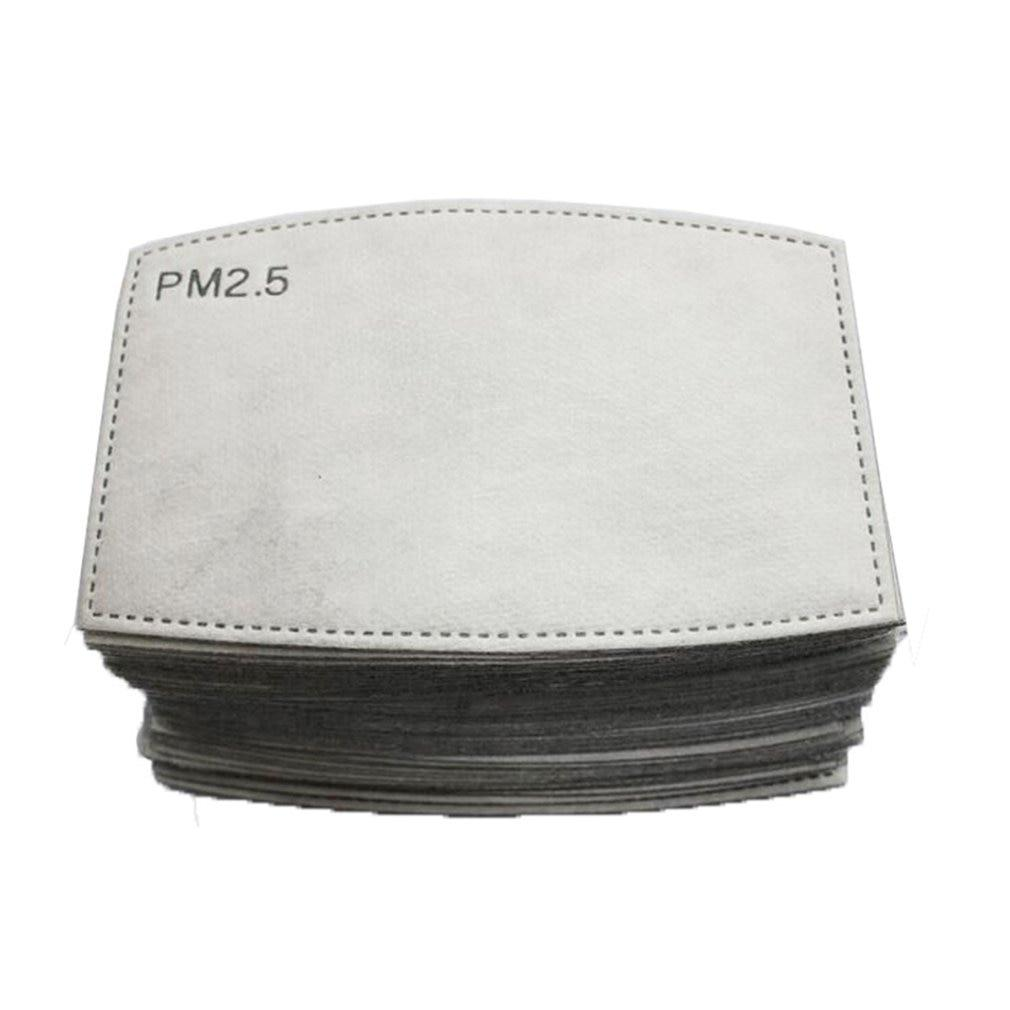 100 PCS PM2.5 Filter Mask Carbon