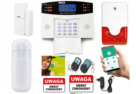 GSM ALARM WIRELESS APP ANDROID SIRENA
