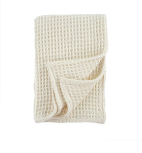 Honeycomb Ivory Throw