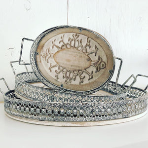 Oval Serving Trays