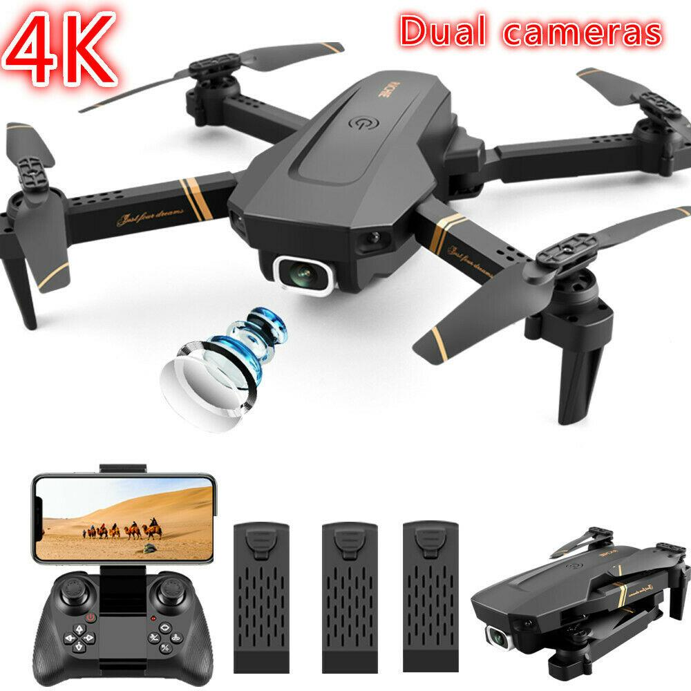 Drone X Pro HD Camera Foldable 6-axis RC Quadcopter