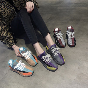 Breathable Woman Spring Sneakers