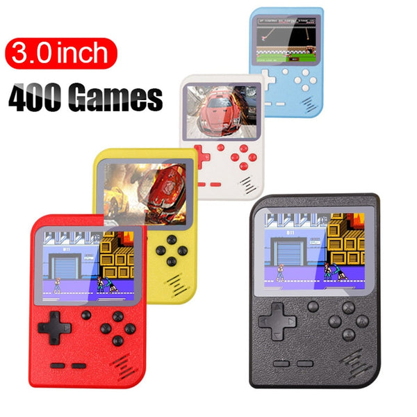 Portable Mini Handheld w/ Built-in 400 games